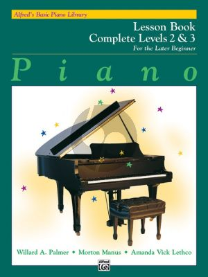 Alfred Basic Piano Later Beginner Lesson Book Complete Level 2 / 3