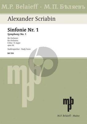 Symphony No.1 E-major Op. 26