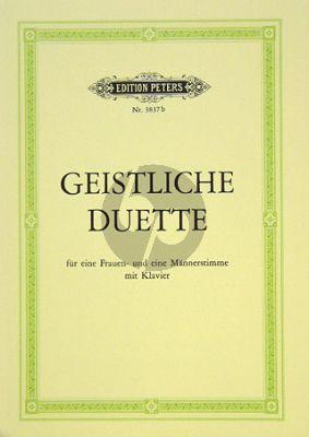 Geistliche Duette Frauen-Mannerstimme mit Klavier