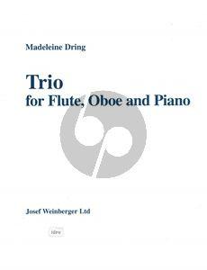 Dring Trio Flute-Oboe and Piano (Score/Parts)