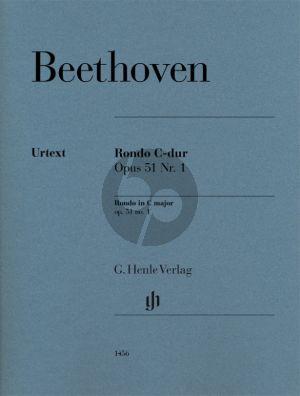 Beethoven Rondo C-dur Op. 51 No. 1 Klavier (Editor Joanna Cobb Biermann - Fingering Rolf Koenen)