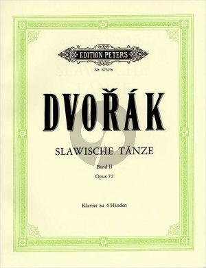 Dvorak Slawische Tanze Vol.2 Op.72 (Eberhardt) (Peters Urtext Verlag)