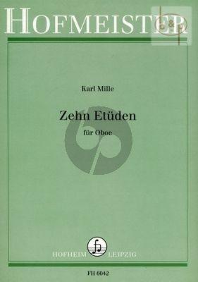 10 Etuden fur Oboe