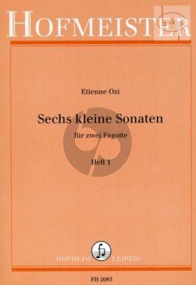Ozi 6 Kleine Sonaten Vol.1 2 Fagotte (Angelhofer)