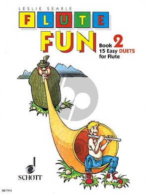 Searle Flute Fun Vol.2 (15 Easy Duets) (Playing Score)