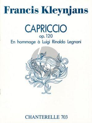 Kleynjans Capriccio Hommage a Legnani Op.120 Guitar