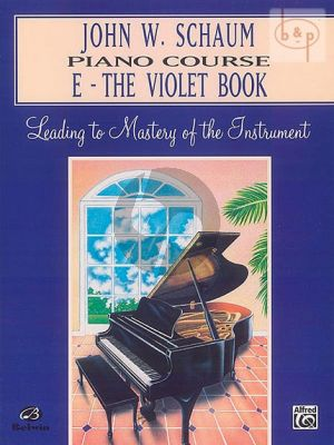 Piano Course Book E The Violet Book