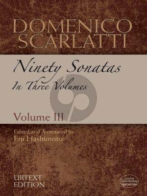 90 Sonatas Vol. 3 No. 61 - 90 Harpsichord