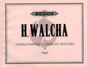 Walcha Choralvorspiele Vol.2 Orgel (20 Choralvorspiele)