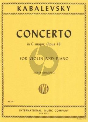 Concerto C-major Op.48 Violin-Orch.
