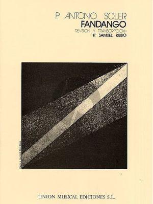 Soler Fandango R.146 Harpsichord (edited by P.Samuel Rubio)