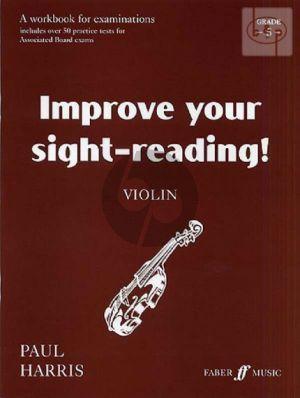 Improve your Sight-Reading Grade 5 Violin