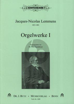 Lemmens Orgelwerke Vol.1 Aus der Orgelschule 1862 Orgel mit Pedal (ed. Otto Depenheuer)