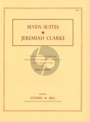Clarke 7 Suites for Harpsichord (edited by John Harley)