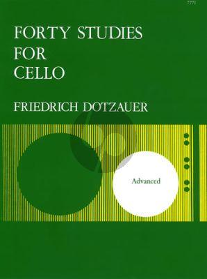 Dotzauer 40 Studies for Violoncello