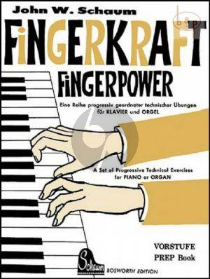 Fingerpower Preperatory Book Piano