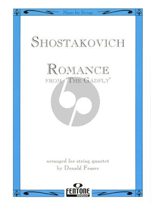Romance (from the Gadfly) String Quartet (Score/Parts)