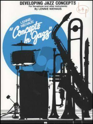 Developing Jazz Concepts Saxophone
