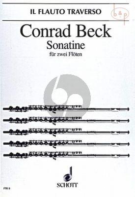 Sonatine (2 Flutes)