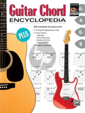 Hall Guitar Chord Encyclopedia (36 Chords in each Key)