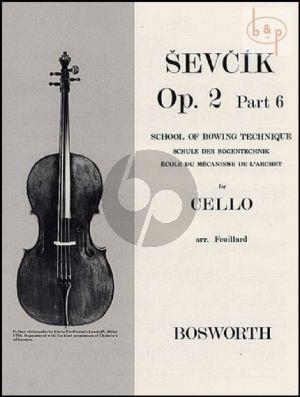 School of Bowing Technique Op.2 Vol.6