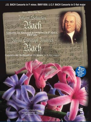 Bach Piano Concerto F-Minor BWV 1056 and J.Chr.Fr. Bach Concerto E-flat Major (Bk- 2 Cd DeLuxe Set) (MMO)