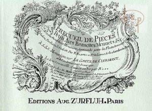 Recueil de Pieces Vol.1
