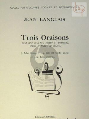 3 Oraisons Op.174