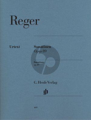Reger Sonatinen (4) Op.89 (Henle-Urtext)