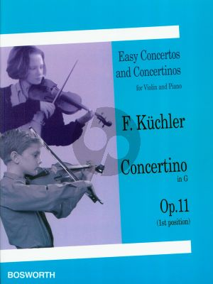Kuchler Concertino G-major Op.11 Violin-Piano (1st Position)