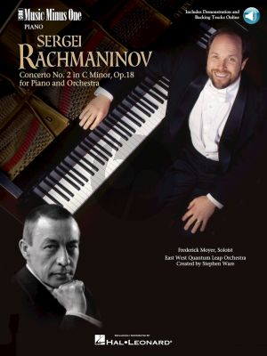 Rachmaninoff oncerto No.2 C-Minor Op.18 Piano-Orchestra Book with Audio Online (Music Minus One)