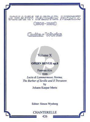 Mertz Works Vol.10 4 Opern Revue Op.8 (Wynberg)