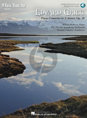 Grieg Concerto a-minor Op.16 Piano and Orchestra (Book with Audio online) (MMO)