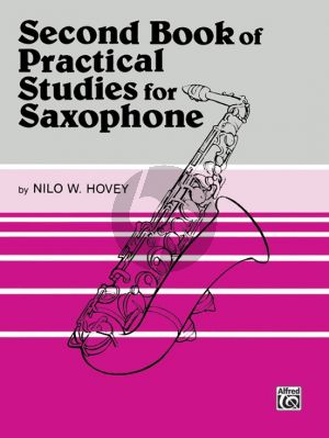 Hovey Second book of Practical Studies for Saxophone