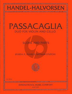 Handel Passacaglia Violin-Violoncello (transcr. by Halvorsen)