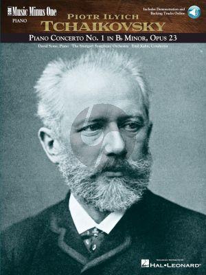 Piano Concerto No.1 B-flat Minor Op.23 (Book with Audio Online)