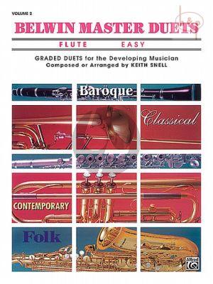Belwin Master Duets Vol.2 2 Flutes