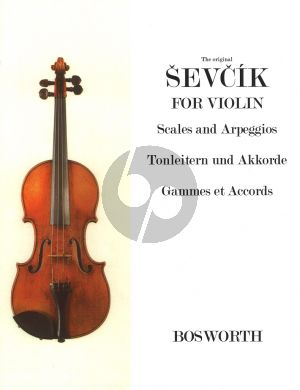Sevcik Scales and Arpeggios for Violin (Tonleitern und Akkorde - Gammes et Accords)