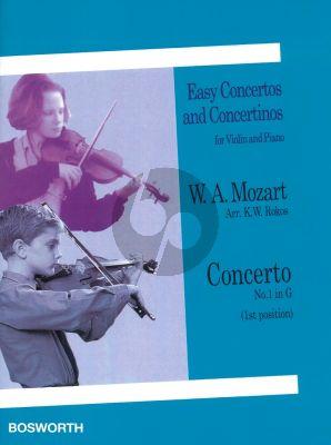 Mozart Concerto No.1 G-major (arr. K.W.Rokos) (1st.Pos.)