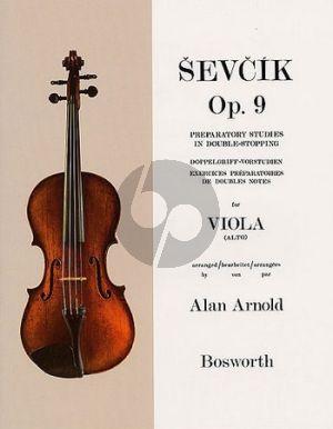 Sevcik Preparatory Studies Op.9 Viola (Alan Arnold)