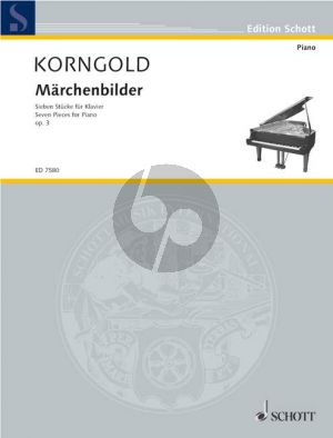 Korngold Marchenbilder Op.3 Klavier