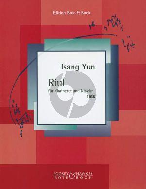 Yun Riul Klarinette und Klavier (1968)