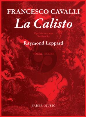Cavalli La Calisto (Vocalscore)