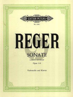 Sonate No.4 a-moll Opus 116 Violoncello und Klavier