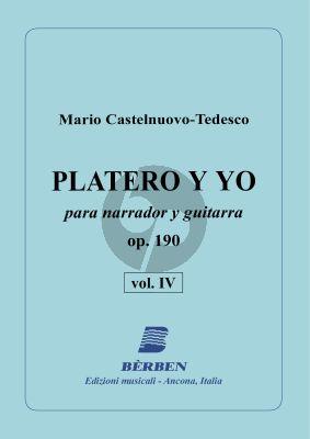 Castelnuovo-Tedesco Platero y Yo Op.190 Vol.4 Narrator with Guitar
