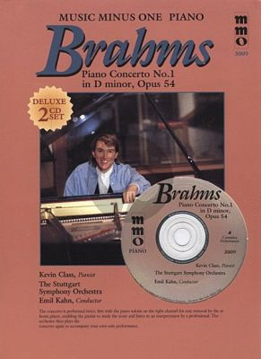 Brahms Piano Concerto No.1 D-Minor Op.15 (Bk-2 Cd DeLuxe )