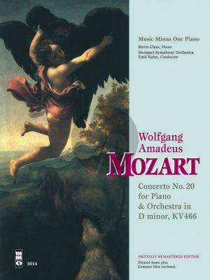Mozart Concerto No.20 D-Minor KV 466 (Bk-2 Cd DeLuxe Set)