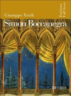 Verdi Simon Boccanegra Full Score