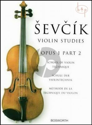 School of Violin Technique Op.1 Vol.2
