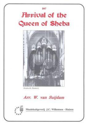 Handel Arrival of the Queen of Sheba Orgel (arr. W. van Suijdam)